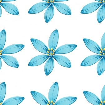 Seamless pattern isolated on white