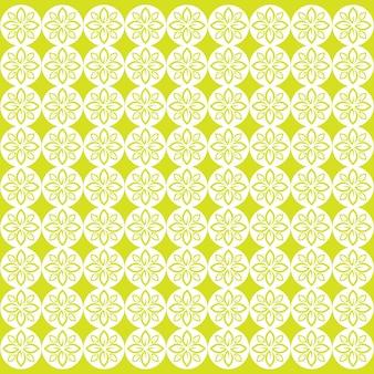 Бесшовный узор лист зеленый векторное изображение