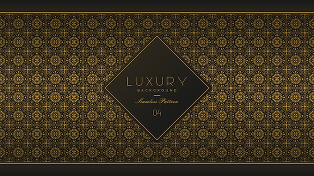Seamless pattern luxury background