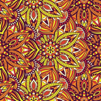 Seamless pattern mandala vector design for printing. tribal ornament.