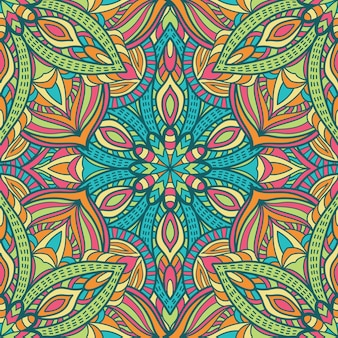 Seamless pattern mandala vector design for printing. tribal ornament.