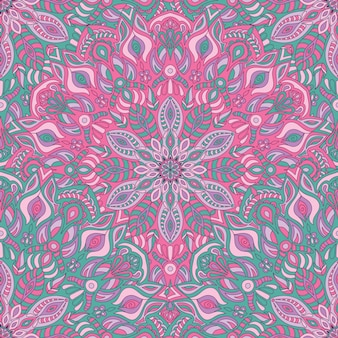 Seamless pattern mandala vector design for printing.