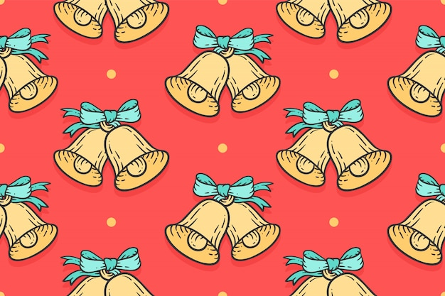 Seamless pattern for merry christmas