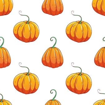 다채로운 스케치 스타일으로 호박의 완벽 한 패턴