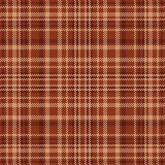 Бесшовный фон из шотландского шотландского пледа. проверьте текстуру ткани.