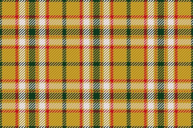 スコットランドのタータンチェック柄のシームレスパターン。チェック生地の質感で繰り返し可能な背景。縞模様のテキスタイルプリントのフラットなベクトルの背景。