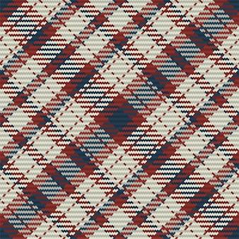 スコットランドのタータンチェック柄のシームレスパターン。生地の質感をチェックした繰り返し可能な背景。縞模様のテキスタイルプリントのフラットなベクトルの背景。