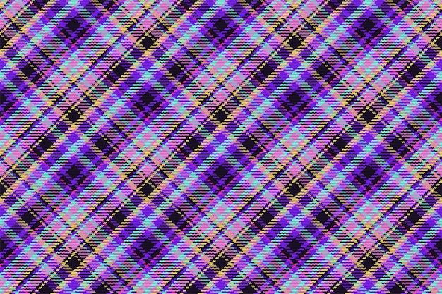 스코틀랜드 타탄 체크 무늬의 완벽 한 패턴입니다. 체크 패브릭 질감이 있는 반복 가능한 배경. 줄무늬 섬유 인쇄의 평면 벡터 배경입니다.