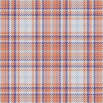 スコットランドのタータンチェック柄のシームレスパターン。チェック生地の質感で繰り返し可能な背景。