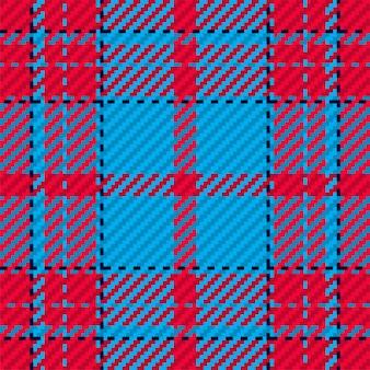스코틀랜드 타탄 체크 무늬의 완벽 한 패턴입니다. 체크 패브릭 질감이 있는 반복 가능한 배경.