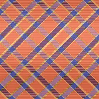 Бесшовный фон из шотландского пледа тартана. повторяемый фон с клетчатой текстурой ткани.