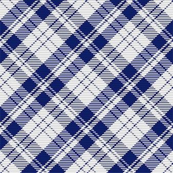 Бесшовный фон из шотландского клетчатого пледа