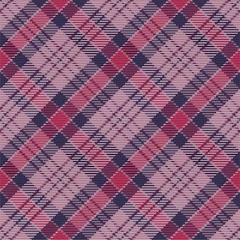 Бесшовный фон из шотландского шотландского пледа.