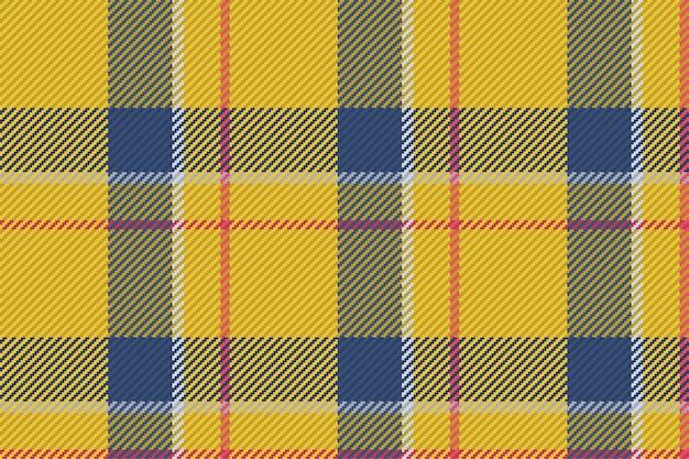 スコットランドのタータンチェック柄のシームレスパターン。