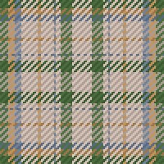 スコットランドのタータンチェック柄のシームレスパターン