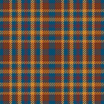 스코틀랜드 타탄 체크 무늬의 완벽 한 패턴