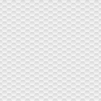 회색 색상의 작은 육각형의 원활한 패턴
