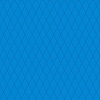 블루 색상에 작은 마름모의 완벽 한 패턴