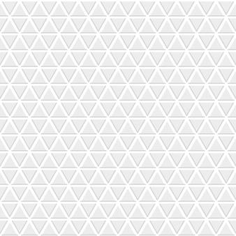 灰色の小さな三角形のシームレスなパターン Premiumベクター