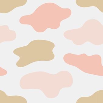 튄 모양의 완벽 한 패턴
