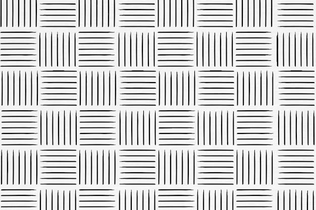 ストライプインクブラシの背景のシームレスなパターン