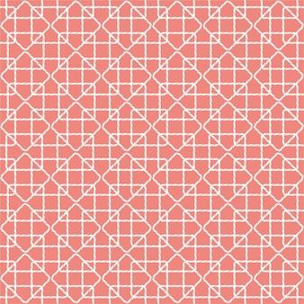 夏ロープイラストのシームレスパターン