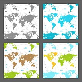 マップのシームレスなパターン