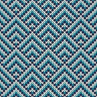 Бесшовный узор на шерсти вязаные текстуры