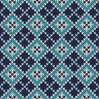 ウールニットテクスチャのシームレスパターン