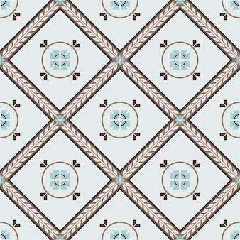 Seamless pattern in oriental style.