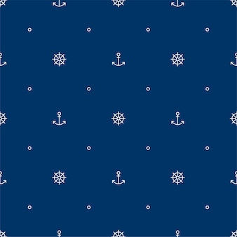 Seamless pattern for print fabric or paper