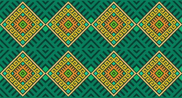 幾何学的形状のシームレスなパターン繰り返しデザイン
