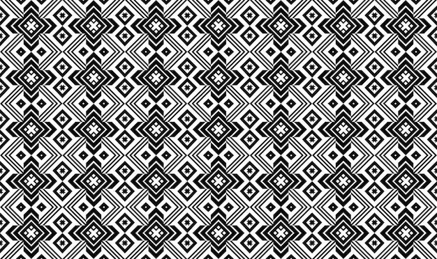 Бесшовные повторяющийся дизайн с геометрическими фигурами