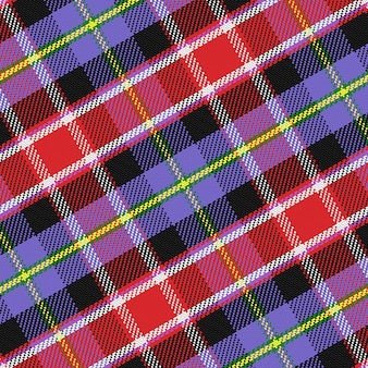Бесшовный фон шотландский тартан колорадо