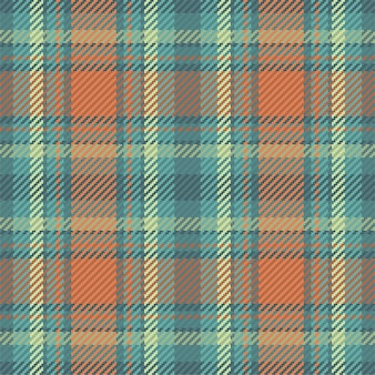 Seamless pattern of scottish tartan plaid. repeatable background with check fabric design.