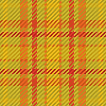 Seamless pattern of scottish tartan plaid. repeatable background with check fabric texture. flat vector backdrop of striped textile print.