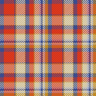 Seamless pattern of scottish tartan plaid. repeatable background with check fabric texture.