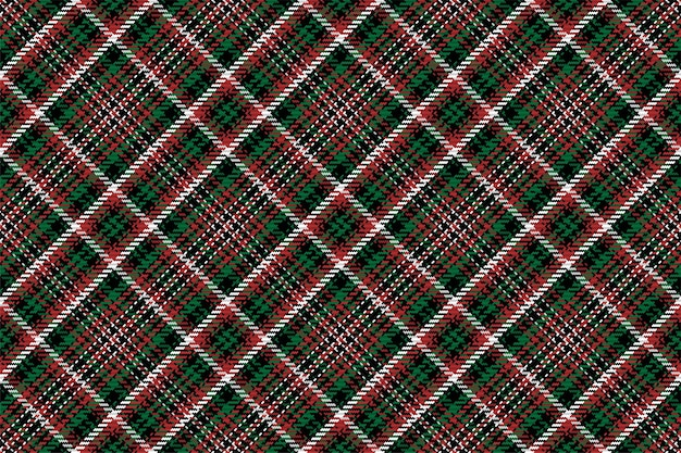 Seamless pattern of scottish tartan plaid. repeatable check fabric texture.