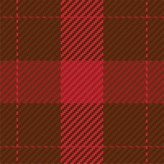 Seamless pattern of scottish tartan plaid Premium Vector