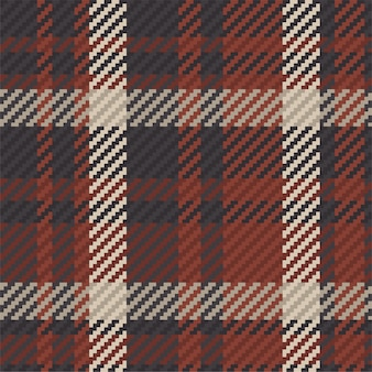 Seamless pattern of scottish tartan plaid