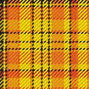 Seamless pattern of scottish tartan plaid.