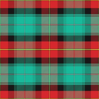 Seamless pattern scottish tartan prince edward island