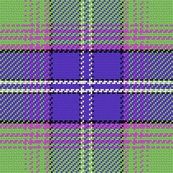완벽 한 패턴 스코틀랜드 타탄