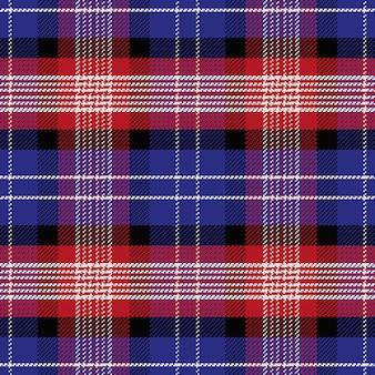 Бесшовный фон шотландский тартан