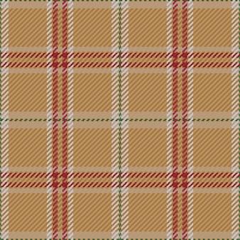 Seamless pattern of scottish tartan