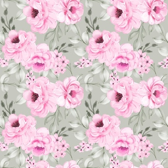 Seamless pattern seamless pattern of flower peonies pink seamless pattern background of flower peonies pink
