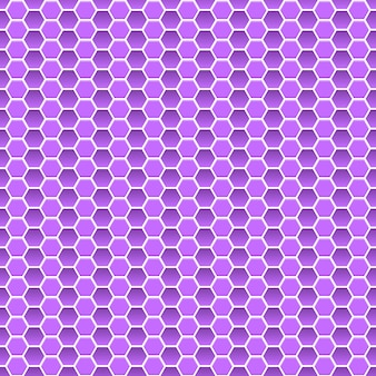 Seamless pattern of small hexagons in violet colors