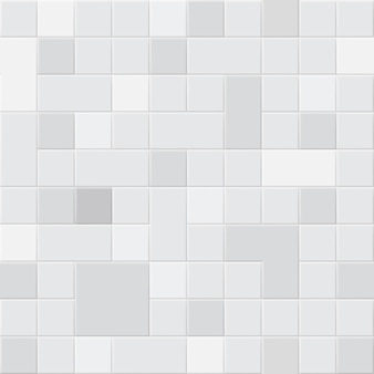 Seamless pattern of square tiles in different shades of gray colors