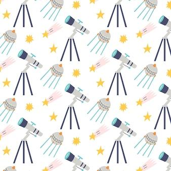 원활한 패턴 별 망원경