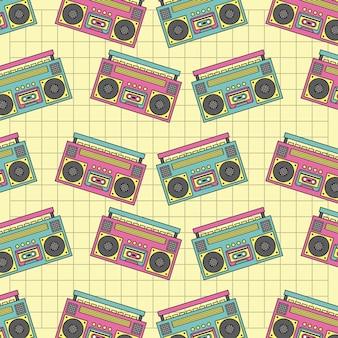 Seamless pattern tape